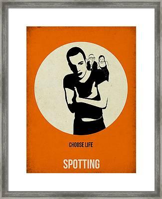 Trainspotting Poster Framed Print by Naxart Studio