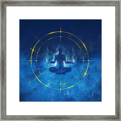 Trancendence I Framed Print by Vincent Carrozza