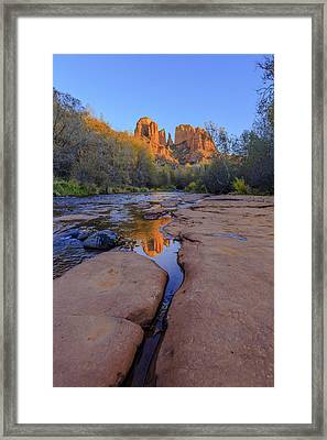 Tranquil Fire Framed Print by Scott Campbell