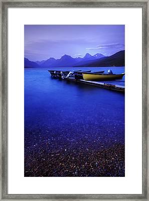 Tranquil Twilight Framed Print by Danielle Mattson