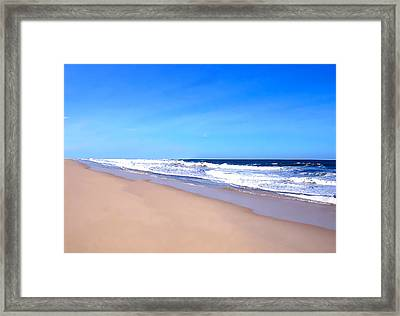 Tranquility II By David Pucciarelli  Framed Print by Iconic Images Art Gallery David Pucciarelli