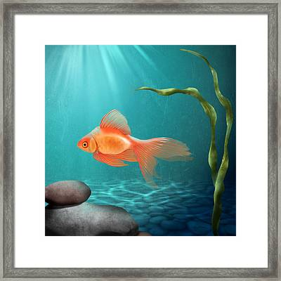 Tranquility Framed Print by April Moen