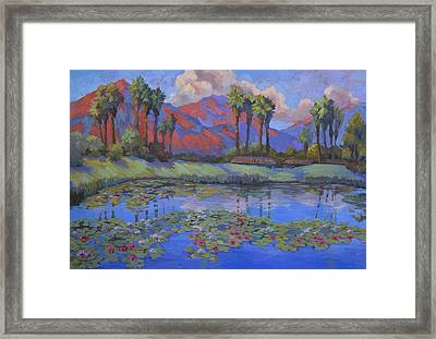 Tranquility Framed Print by Diane McClary