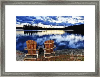 Tranquility Framed Print by Elena Elisseeva