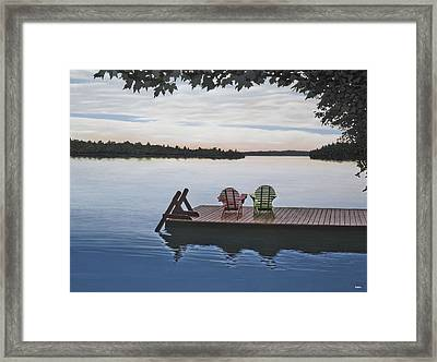Tranquility Framed Print by Kenneth M  Kirsch