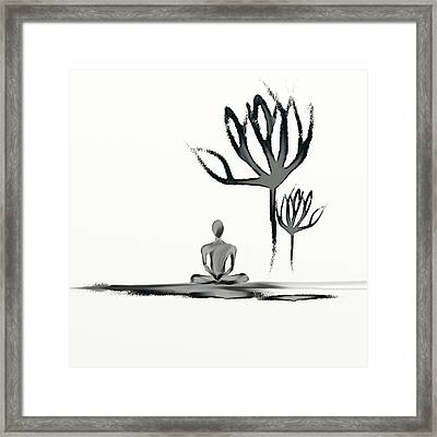 Tranquility Framed Print by Len YewHeng