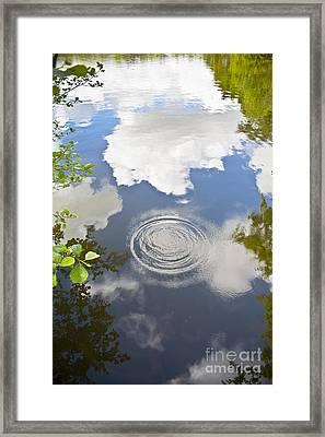 Tranquillity Framed Print by Jan Bickerton