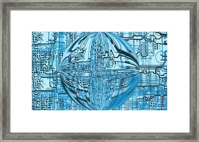 Transcendence Framed Print by Dan Sproul