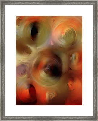 Transcendent - Abstract Art By Sharon Cummings  Framed Print by Sharon Cummings