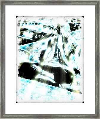 Transcending Framed Print by Frederico Borges
