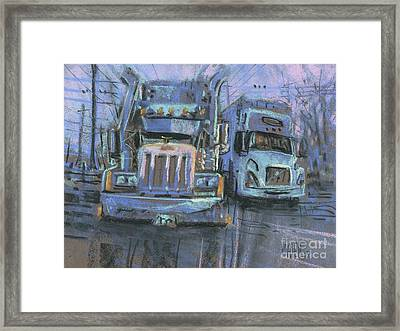 Transformers Framed Print by Donald Maier