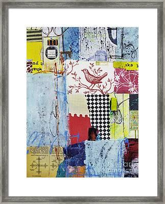 Transistor Harmony Framed Print by Elena Nosyreva