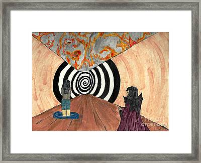 Transition Framed Print by Angela Pelfrey
