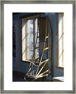 Transportation Framed Print by Tara Lynn