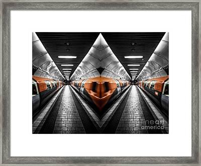 Transsnart Framed Print by John Farnan