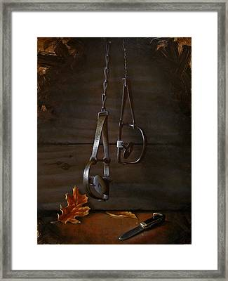Traps Framed Print by Timothy Jones