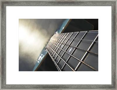 Traveler Of Time And Space Framed Print by Laura Fasulo