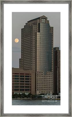 Travelers Building - 388 Greenwich Street In Nyc Framed Print by David Oppenheimer