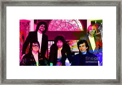 Traveling Wilburys Framed Print by Marvin Blaine