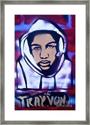 Trayvon's America Framed Print by Tony B Conscious