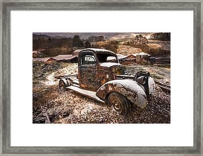 Treasures Framed Print by Debra and Dave Vanderlaan