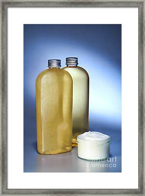 Treatment Framed Print by Olivier Le Queinec