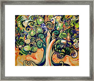 Tree Candy 2 Framed Print by Genevieve Esson