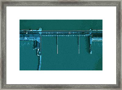 tree Gorges 3 Framed Print by Mark Van Norman