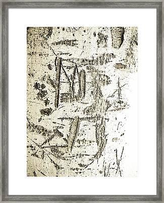 Graffiti 1 Framed Print by Gilbert Artiaga
