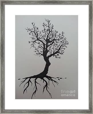 Tree Framed Print by Jessica Niven