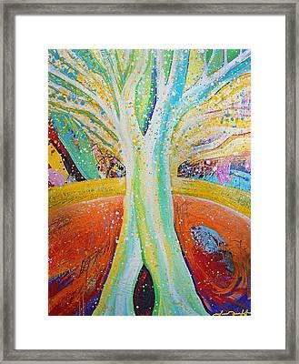 Tree Framed Print by Laura Tarnoff