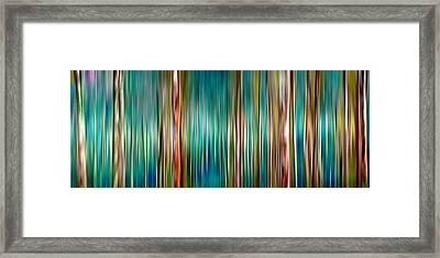 Tree Line Framed Print by Az Jackson