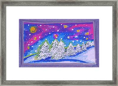 Tree Line By Jrr Framed Print by First Star Art