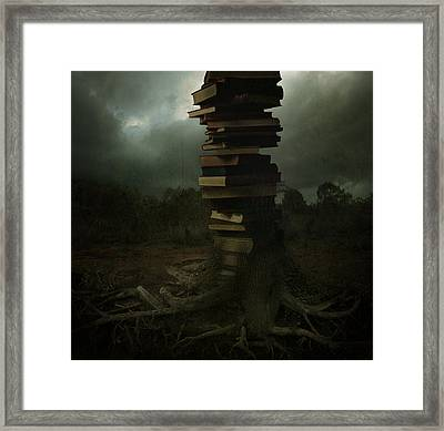 Tree Of Knowledge Framed Print by Fern Evans