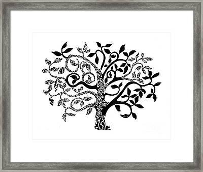 Tree Of Life Framed Print by Anushree Santhosh