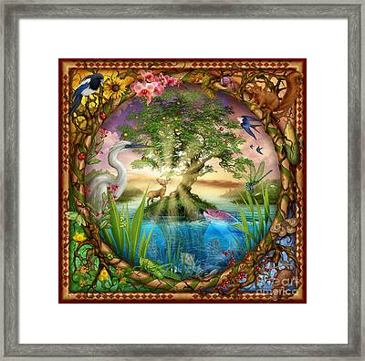 Tree Of Life Framed Print by Ciro Marchetti