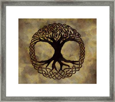 Tree Of Life Framed Print by Dan Sproul