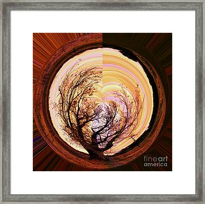 Tree Of Life Framed Print by Molly McPherson