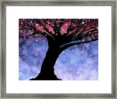 Tree Of Life Three Framed Print by Ann Powell