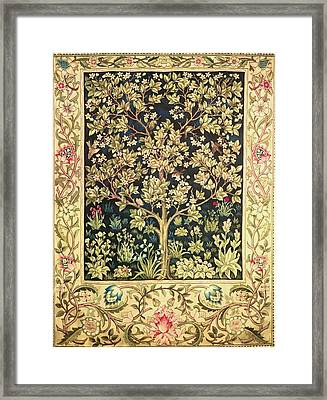 Tree Of Life Framed Print by William Morris