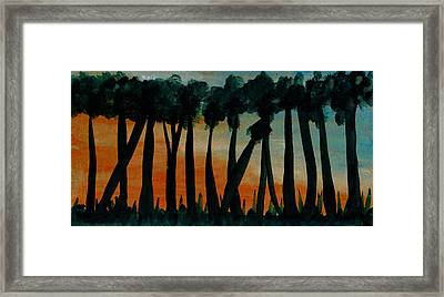 Trees Of The Highest Order Framed Print by R Kyllo
