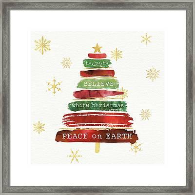 Tree Trimming Iv Framed Print by Jess Aiken