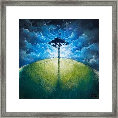Treelogy I Framed Print by Vincent Carrozza