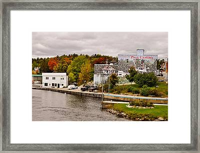 Trees On A Hill, Port Carling, Muskoka Framed Print by Panoramic Images
