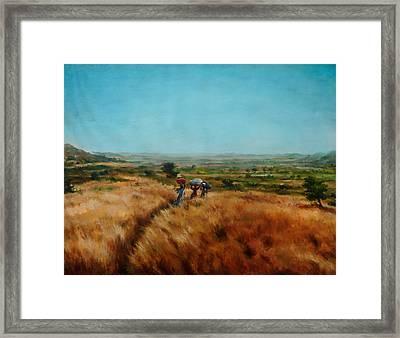 Trek Framed Print by Sourav Bose