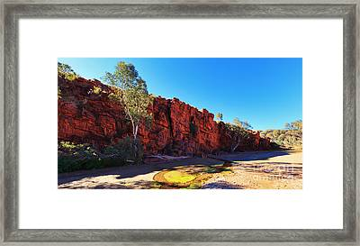Trephina Gorge Framed Print by Bill  Robinson