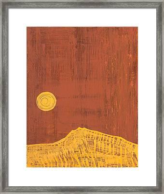 Tres Orejas Original Painting Framed Print by Sol Luckman