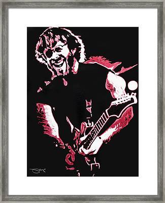 Trey Anastasio In Pink Framed Print by Joshua Morton