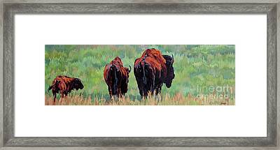TRI Framed Print by Patricia A Griffin
