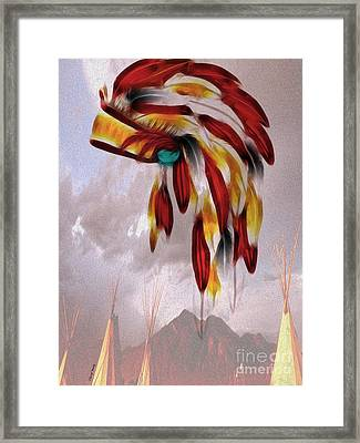 Tribal Framed Print by Cheryl Young